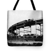 New York Railroad Bridge Tote Bag
