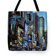 New York Rush Hour Tote Bag