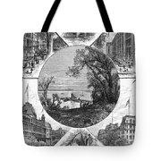 New York Saratoga, 1874 Tote Bag