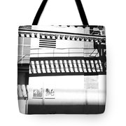New York Shadows Tote Bag