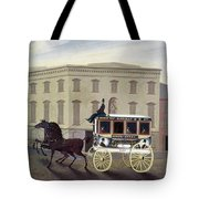 New York Stagecoach Tote Bag
