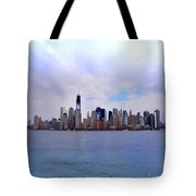 New York - Standing Tall Tote Bag by Bill Cannon