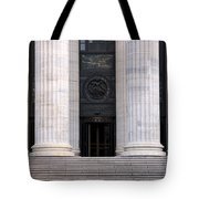 New York State Education Building Entrance Tote Bag