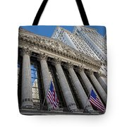 New York Stock Exchange Wall Street Nyse  Tote Bag