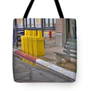 New York Street Scene Tote Bag