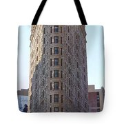 New York - The Flat Iron Building Tote Bag