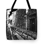 New York Ticker Tape Parade Tote Bag
