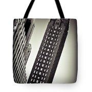 New York Time Tote Bag