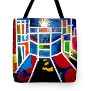 New York Times Square  By Janelle Dey Tote Bag