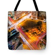 New York Traffic Tote Bag