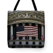 New York - Wall Street Panoramic Tote Bag