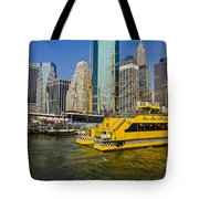 New York Water Taxi Tote Bag
