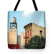 New York Water Tower 3 Tote Bag