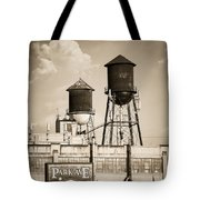 New York Water Tower 8 - Williamsburg Brooklyn Tote Bag