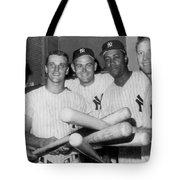 New York Yankee Sluggers Tote Bag