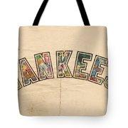 New York Yankees Poster Art Tote Bag