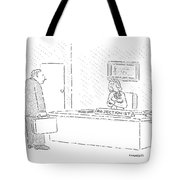New Yorker July 9th, 1990 Tote Bag