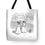 New Yorker May 19th, 1997 Tote Bag by Roz Chast