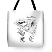 New Yorker October 13th, 1997 Tote Bag