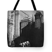New York's Financial District Tote Bag