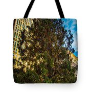 New York's Holiday Tree Tote Bag