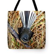 New Zealand Fantail Tote Bag