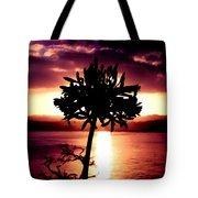 New Zealand Flower Sunset Tote Bag