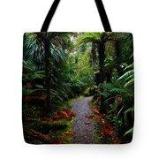 New Zealand Rainforest Tote Bag