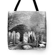 Newark Cemetery, 1876 Tote Bag