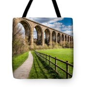 Newbridge Rail Viaduct Tote Bag