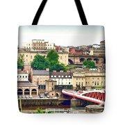 Newcastle Upon Tyne Quayside Tote Bag