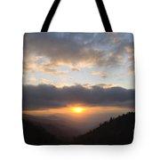 Newfound Gap Sunrise - D008233 Tote Bag