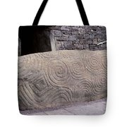 Newgrange Entrance Kerb Tote Bag