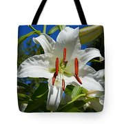 Newly Opened Lily Tote Bag