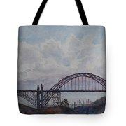 Newport Bay Bridge I Tote Bag