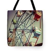 Newport Beach Ferris Wheel In Balboa Fun Zone Photo Tote Bag by Paul Velgos