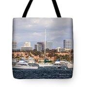Newport Beach Skyline  Tote Bag by Paul Velgos