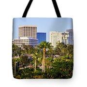 Newport Beach Skyline Picture Tote Bag