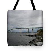 Newport Bridge  -  Rhode Island Tote Bag