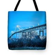 Newport Bridge Tote Bag