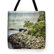 Newport Cliff Walk Tote Bag