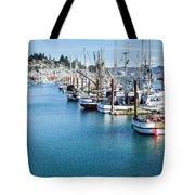Newport Fishing Fleet  Tote Bag