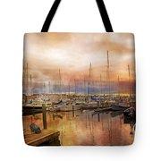 Newport Rhode Island Harbor I Tote Bag
