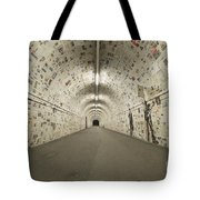 News In The Tunnel Tote Bag