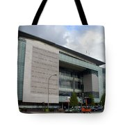 Newseum In Washington Dc Tote Bag