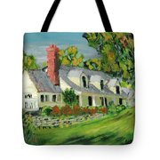Next To The Wooden Duck Inn Tote Bag