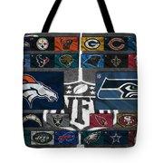 Nfl Teams Tote Bag