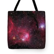 Ngc 3293, The Gem Cluster And Gabriela Tote Bag