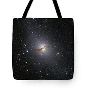 Ngc 5128 Radio Galaxy Tote Bag
