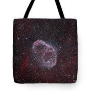 Ngc 6888, The Crescent Nebula Tote Bag